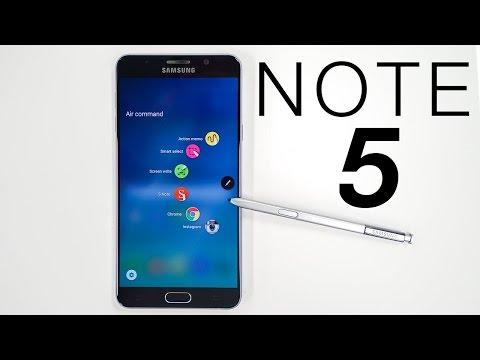 نظره سريعة على جهاز نوت5 | Galaxy Note 5