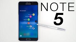 نظره سريعة على جهاز نوت5   Galaxy Note 5