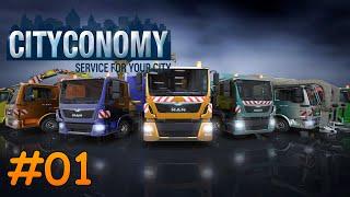 getlinkyoutube.com-Let's Play Cityconomy Teil 1 - Im Einsatz für eine saubere Stadt | Liongamer1
