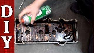 getlinkyoutube.com-How to Replace a Valve Cover Gasket - Toyota Camry 2.2L Engine