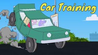 Pyaar Mohabbat Happy Lucky - Episode 32 | Car Training | Animated Series