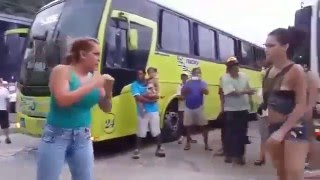 getlinkyoutube.com-Increíble Pelea De Mujeres KARATECA Vs BOXEADORA