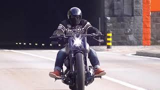 getlinkyoutube.com-Harley Davidson FXSB Breakout Ride 21.04.16