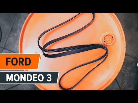 Инструкция: Как да сменим Поликлинов ремък, Паразитна водеща ролка наFORD MONDEO 3