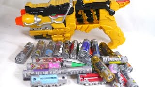 getlinkyoutube.com-Demo: Power Rangers Dino Charge Ultimate Charger Collection (All Charger Sounds)