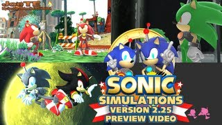 getlinkyoutube.com-Sonic Simulations Version 2.25 (Sonic Generations PC Mod) - Preview Video