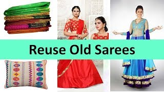 getlinkyoutube.com-12 ways to reuse/recycle old sarees