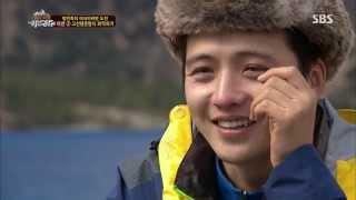 김혜성, 눈물 흘린 이유는? @정글의법칙 130628
