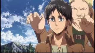 getlinkyoutube.com-Annie vs Eren Training Scene [English Dub]