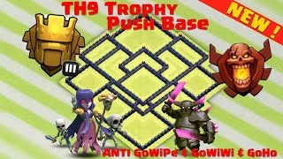 getlinkyoutube.com-Clash of Clans | NEW UPDATE Town Hall 9 (TH9) Trophy Base!! - TH11 DECEMBER UPDATE