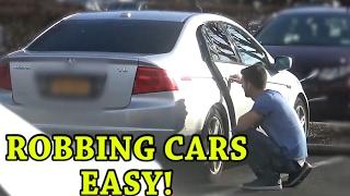 ROBBING CARS (Social Experiment)