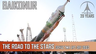getlinkyoutube.com-Soyuz TMA LiftOff Baikonur
