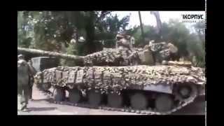 getlinkyoutube.com-Наступление ополченцев на позиции национальной гвардии. АТО