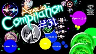 getlinkyoutube.com-Agar.io Compilation #31 | Win, Fail & Funny moments