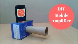 getlinkyoutube.com-Make a Cheap DIY Smartphone Amplifier/Speaker to Boost the Volume