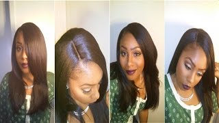 getlinkyoutube.com-Outre Natural Yaki 18'' L part Lace wig