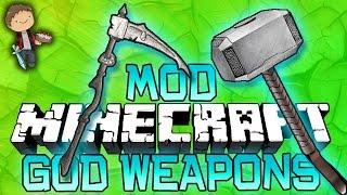 getlinkyoutube.com-Minecraft: GOD WEAPONS MOD! PVP Challenge Modded Mini-Game w/Bajan Canadian and Friends!