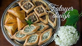 getlinkyoutube.com-Fatayer Dough (Cajiin Fataa'ir) عجينة فطائر