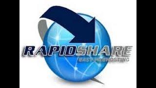 شرح التحميل من رابيدشير - rapidshare