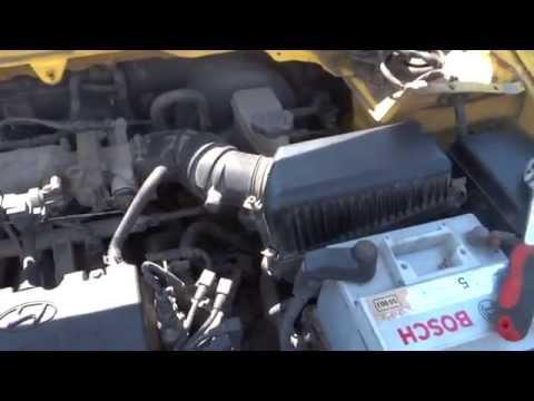 Hyundai Getz прокачка тормозов с заменой тормозной жидкости
