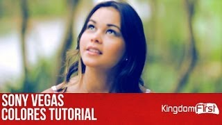 SONY VEGAS - Colores tutorial