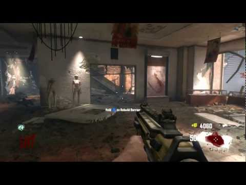 Blackops 2 Die Rise High Round Stratergy PDW-57 Method
