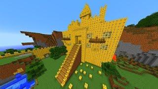 getlinkyoutube.com-Minecraft LUCKY BLOCK TOWN WAR #1 with Vikkstar, Woofless, Tyler & Jason (Minecraft Lucky Block Mod)