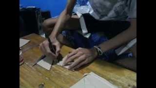 getlinkyoutube.com-BikinApa!!! - Rak Buku - membuat rak buku dari bubur kertas