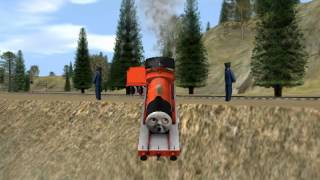 getlinkyoutube.com-Unusual Thomas and Friends Trainz Video with Animation Stuff