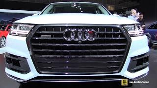 2017 Audi Q7 3.0T Quattro - Exterior and Interior Walkaround - 2016 LA Auto Show