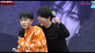 Yesung's skinship with Eunhyuk makes him ask help from Donghae! (Eng/Esp)