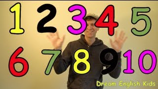 getlinkyoutube.com-Numbers Song Let's Count 1-10 New Version