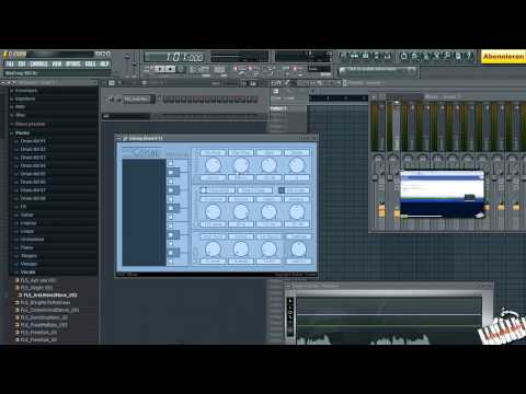 Video 19 _ FL STUDIO / FRUITY LOOPS VON A - Z  (GSnap & Autotune Effect) [TUTORIAL DEUTSCH]