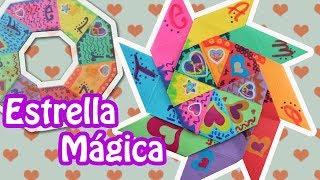 getlinkyoutube.com-Carta en Estrella Mágica-Transformer (Para San Valentín)