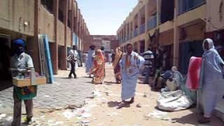 getlinkyoutube.com-Mauritania capital Nouakchott   No.1   Bicycle fellow Akira (Japanese)