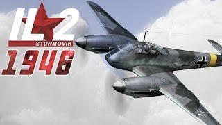 getlinkyoutube.com-Full IL-2 1946 mission: Me-410s intercepting a B-17 combat wing