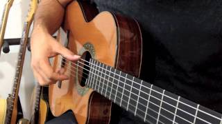 getlinkyoutube.com-Fingerstyle Part 1 - Malaguena