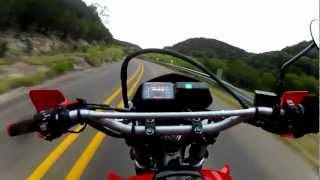 "getlinkyoutube.com-XR650L-GoPro-Chest Mount:Texas ""The Three Sisters"""