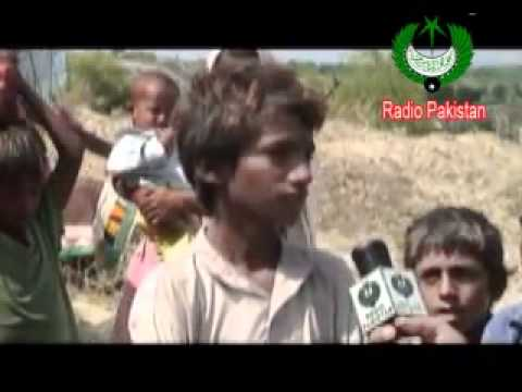 Sindh Flood - Flood Victims In Achhrothar, Khipro (Report) 2011.flv
