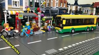 LEGO City Bus Station, set 60154!  Released 2017! Unboxing, Info and Footage!