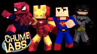 getlinkyoutube.com-Minecraft: MELHOR SUPER-HERÓI DE TODOS! (Chume Labs 2 #76)