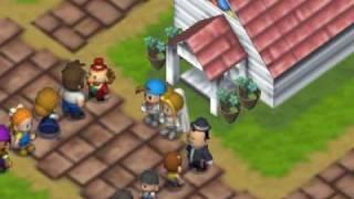 getlinkyoutube.com-Harvest Moon 64 glitch #43 (Karen's bigamy) 牧場物語2 カレン二重婚バグ