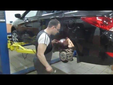 Замена обломанной шпильки заднего колеса