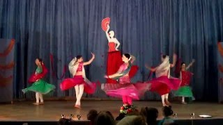 getlinkyoutube.com-Prem Ratan Dhan Payo Oksana Demyanchuk and Dance group Indira