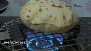 getlinkyoutube.com-How to make Soft Chapati / Soft Phulka Recipe - Roti - Indian Flat Bread Recipe
