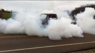 getlinkyoutube.com-AWESOME!! Truck Burnout '84 Chevy C10 5.3 Swap - MUST SEE - Smokey LS1 LSx SS