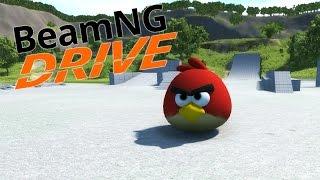 getlinkyoutube.com-ANGRY BIRDS! | BeamNG.Drive #11