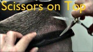 getlinkyoutube.com-✄ Barber Tutorials 5 - Zero Sides/Back + Scissors on Top