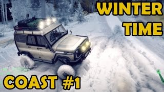 getlinkyoutube.com-Spin Tires|Coast #1 Winter time, multi mod mayhem. Uncloaking the map.