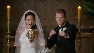 getlinkyoutube.com-Power Ranger Super Megaforce | Emma y Orion se disfrazan
